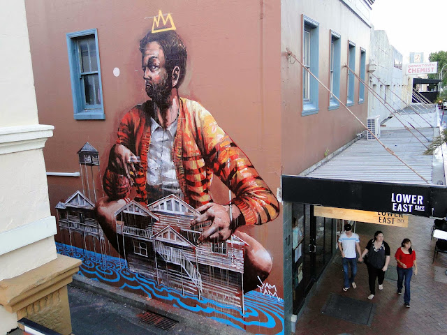 Street Art By Fintan Magee In Wollongong, Australia For THe Wonder Walls Urban Art Festival. 1