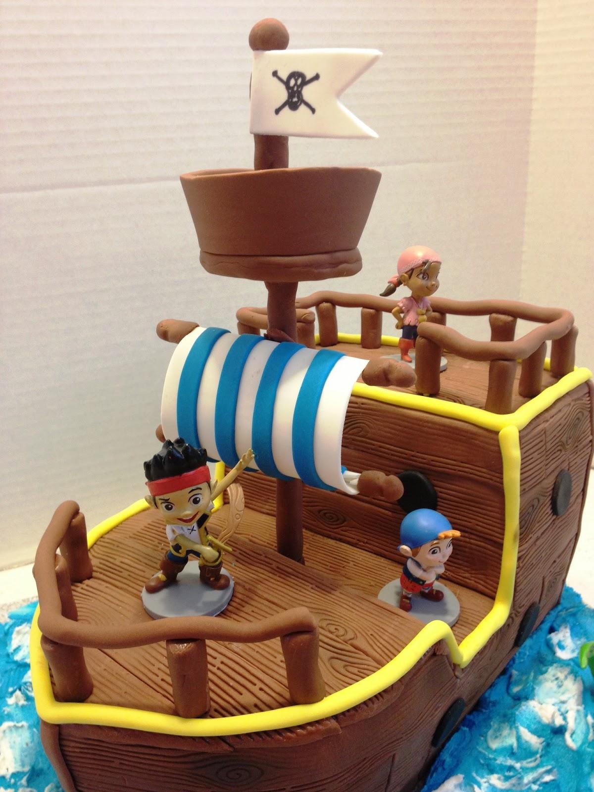 jake and the neverland pirates cake - photo #29
