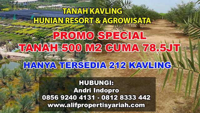 Kavling Kampung Kurma, Investasi Tanah Kavling 2017, Tanah Kavling Murah, Tanah Kavling Syariah
