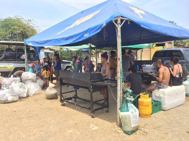 san juan del sur garbage clean up