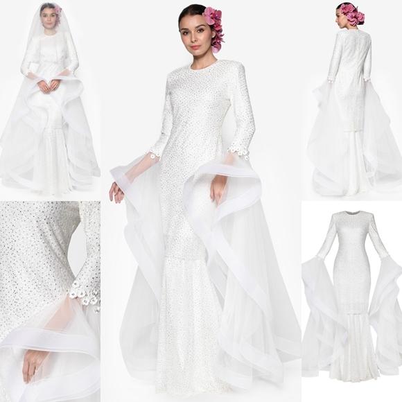 Baju Pengantin Terkini 2016 2017 Rizalman Bridalwear Hyacinth Dress