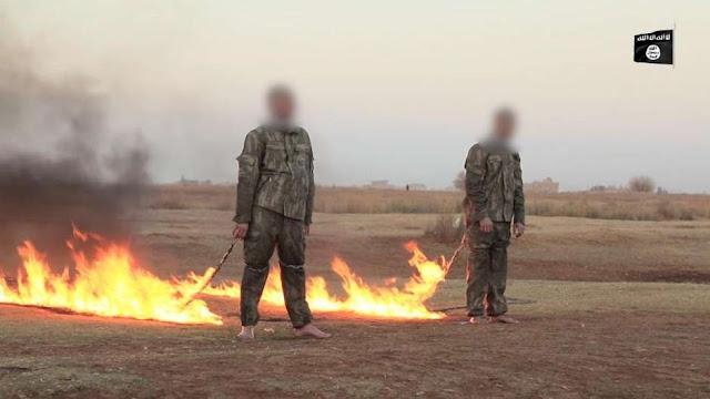 Soldados turcos são queimados vivos pelo Estado Islâmico