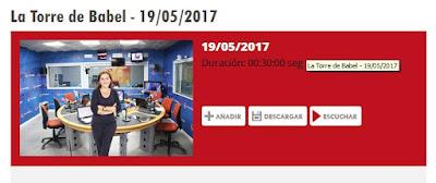 http://www.aragonradio.es/podcast/emision/156733