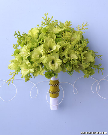 Danzignito S Blog A Beautiful Selection Of Green Wedding Bouquets
