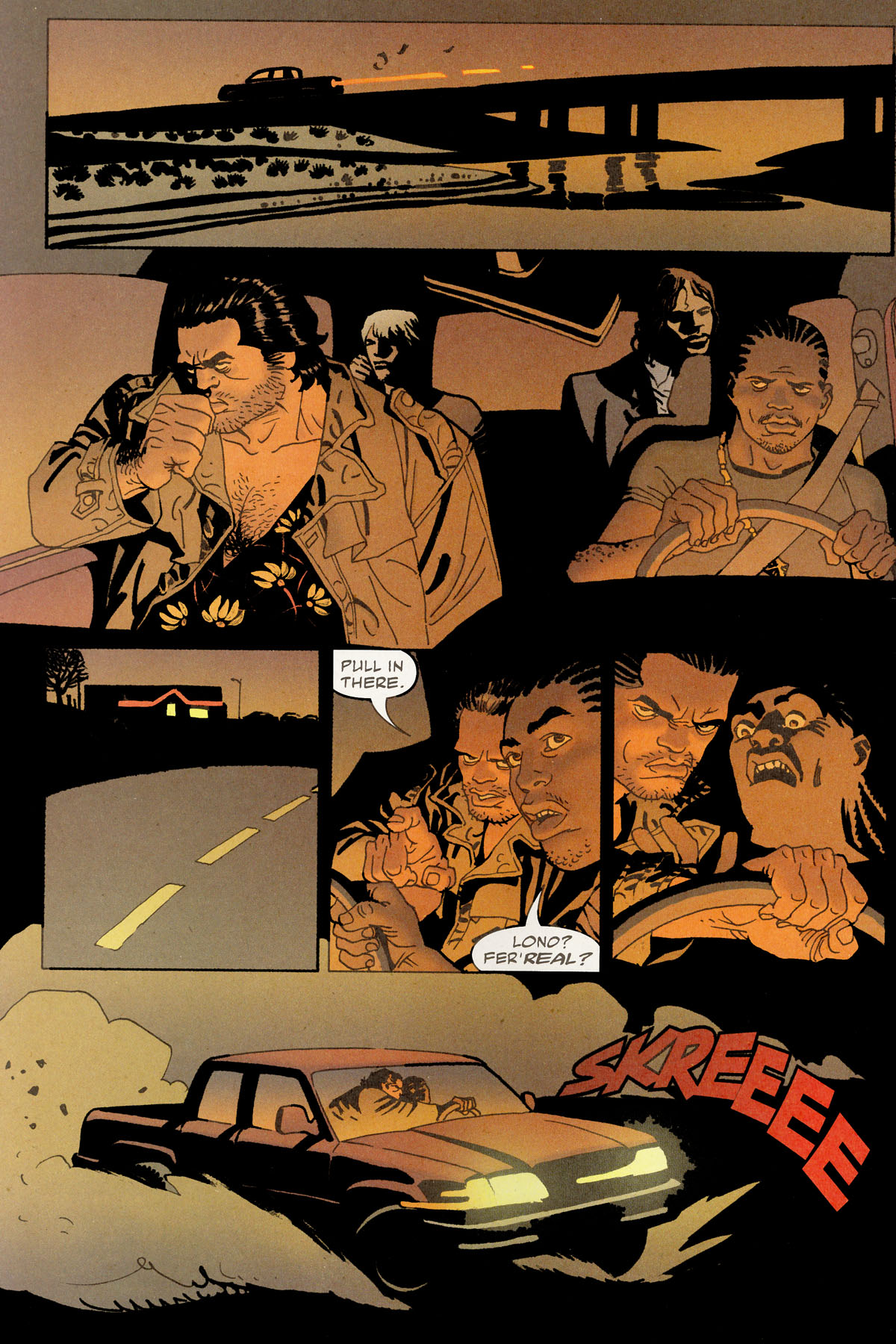 Read online 100 Bullets comic -  Issue #80 - 6