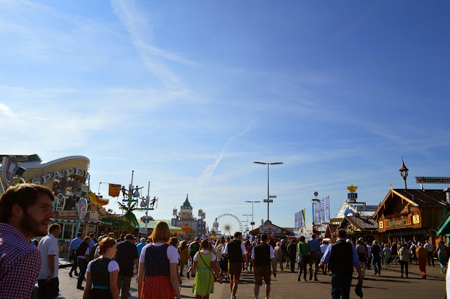 Oktoberfest Fairgrounds, Theresienwiese, Munich, Germany
