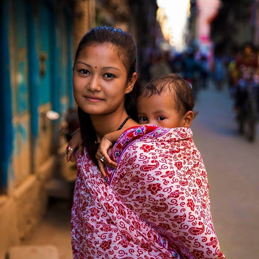 This Photographer Took Pictures Of Women From All Over The World. You'll Be Amazed By Their Beauty And Uniqueness! - Kathmandu, Nepal