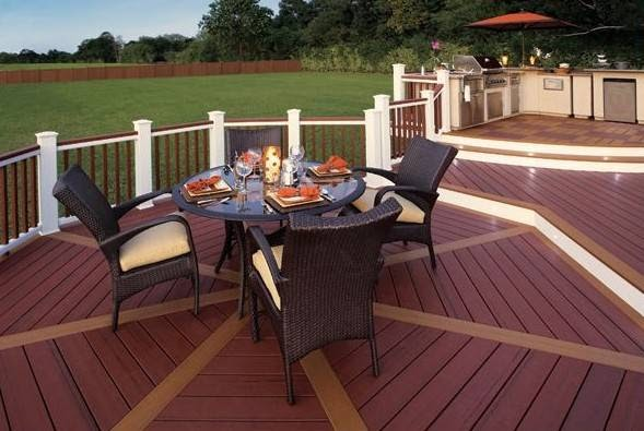 Patio Deck Railing Design How To Build A Deck On A Budget