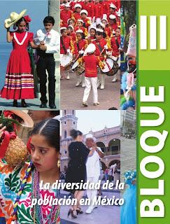 Apoyo Primaria Geografía 4to. Grado Bloque III La diversidad de la población en México