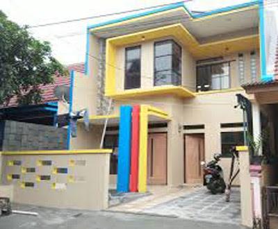 bentuk rumah 2 lantai minimalis didesa