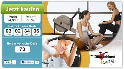 DailyDeal: wirdfit.de-Trainingspass im Wert von 59,90 Euro zum Preis von 24,90 Euro