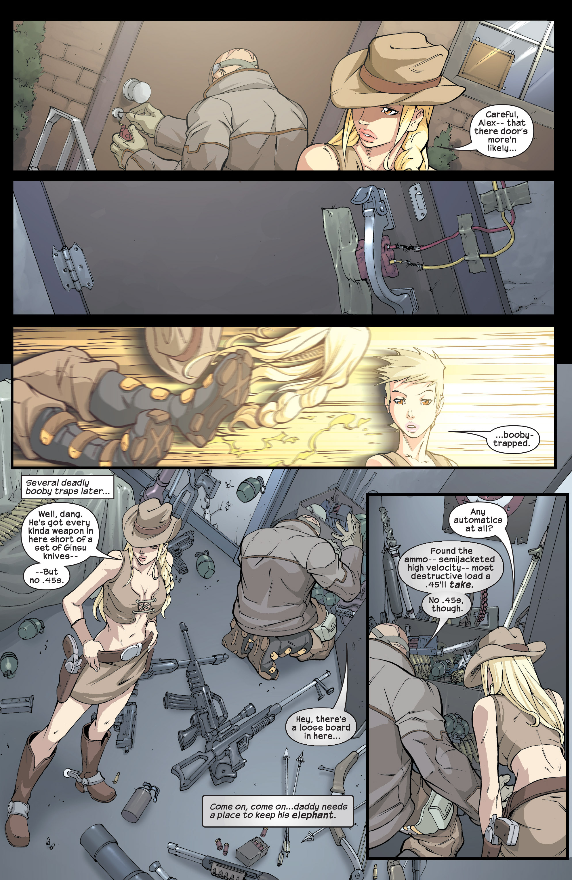 Read online Agent X comic -  Issue #2 - 20