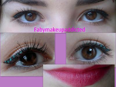 makeup puntinismo
