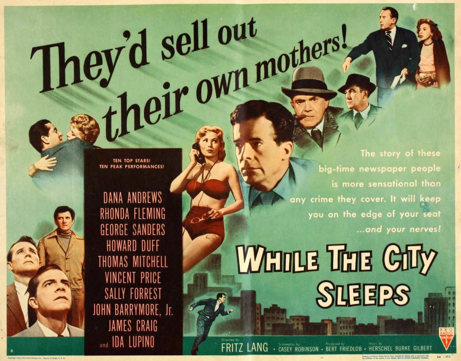 Un contrato es un contrato y aquí tenemos a Fritz Lang en 1956 con la  obligación de rodar una película para Friedlob y la RKO asumiendo que para  un director ...