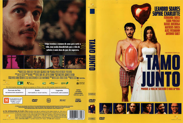 Capa DVD Tamo Junto (Oficial)