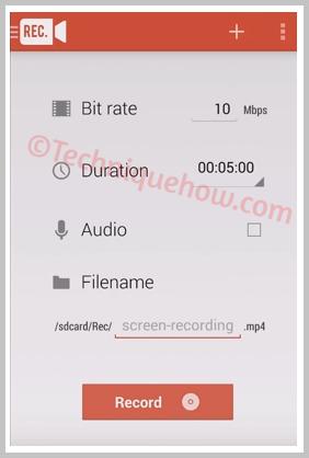 Rec. (Screen Recorder) record call