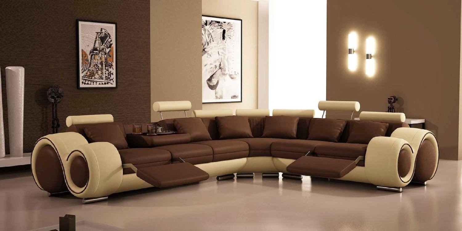 Curved Sofa Furniture Reviews: Curved Leather Sofa Recliner