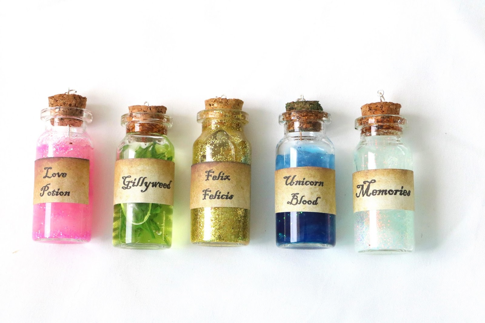 DIY Harry Potter Potions Necklace