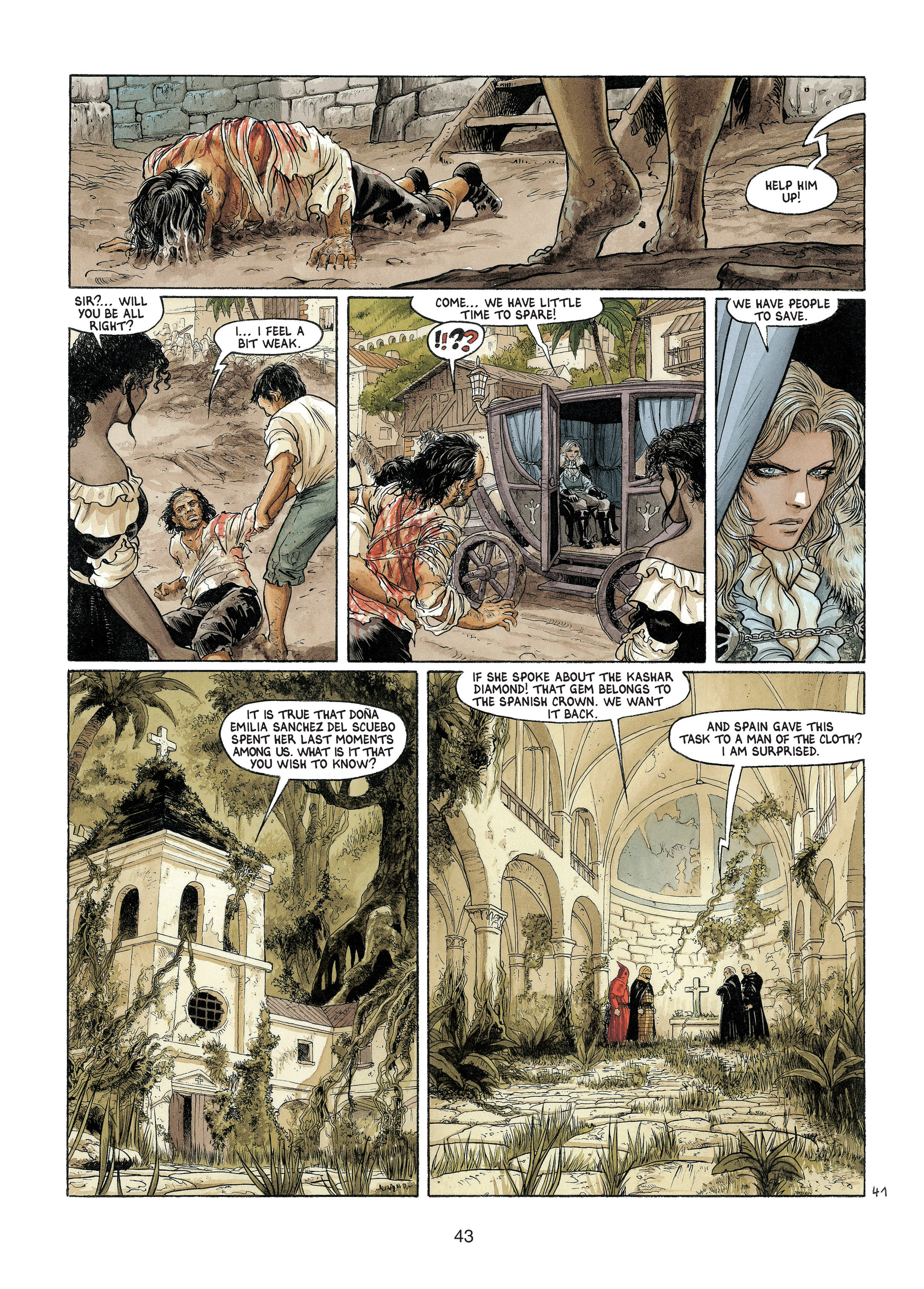 Read online Barracuda comic -  Issue #4 - 44