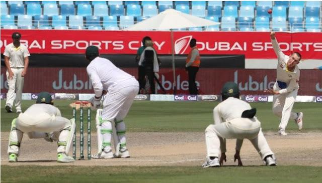 Pakistan elect to bat in second test v Australia