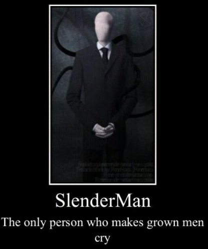 Lovequotes Fun Slender Man