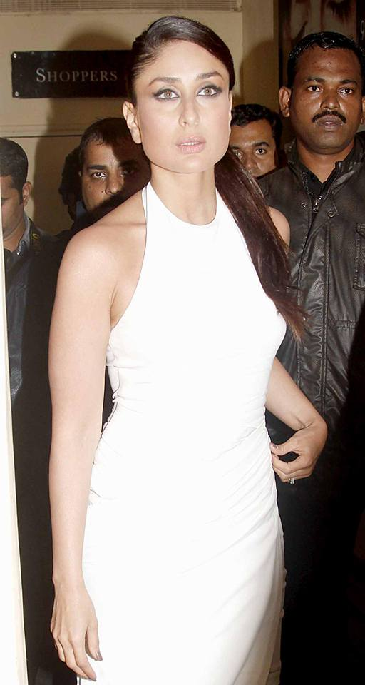 Kareena Kapoor Stills In White Dress