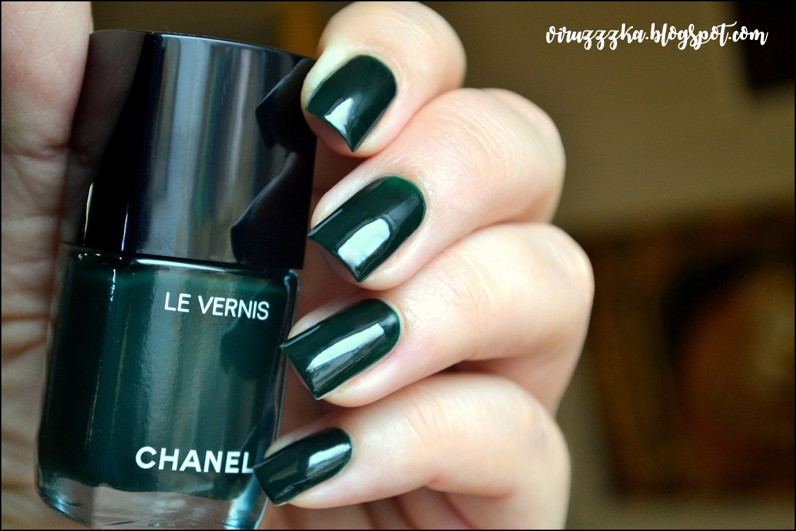 Chanel Le Vernis 582 Fiction | Chanel Libre Numeros Rouge Makeup Collection Christmas Holiday 2017