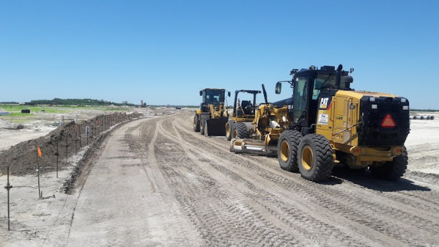 Road Installation and Grading - Trasona Cove
