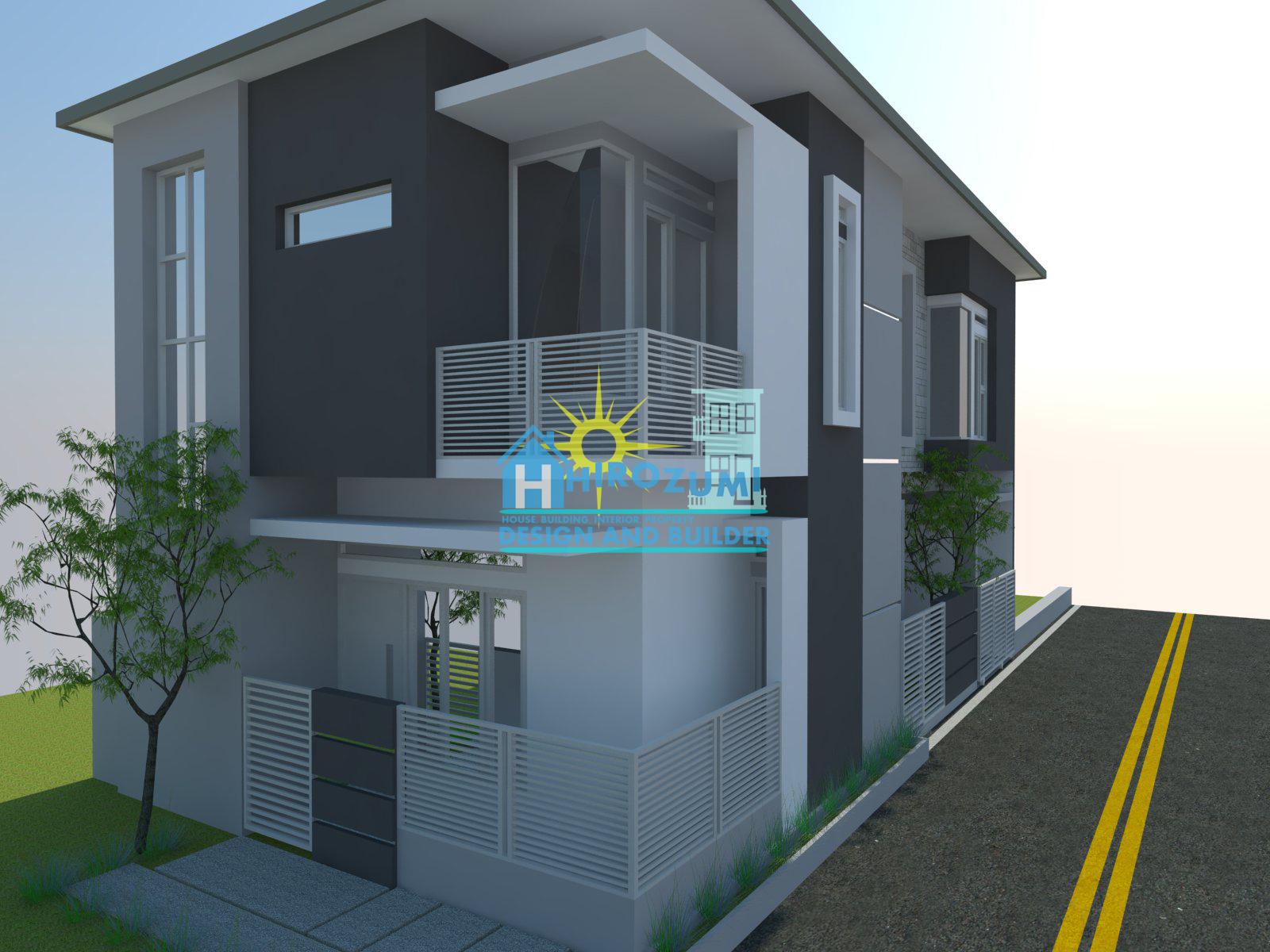 Design Rumah 2 Lantai  Cijeruk Bogor ~ jasa desain rumah di bogor  jasa desain Interior