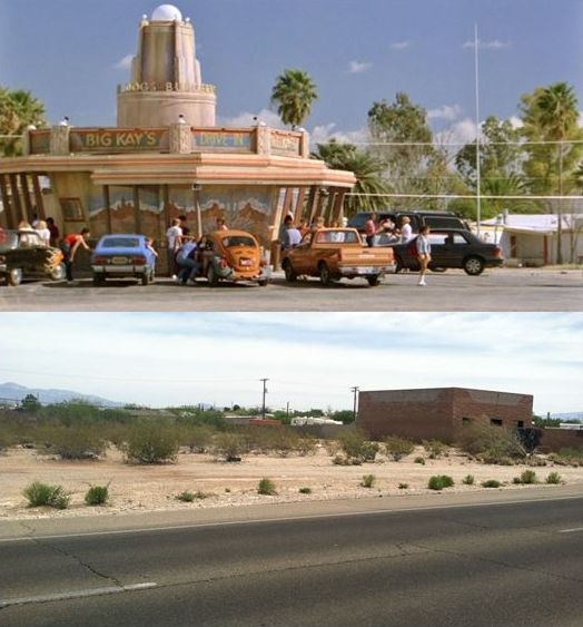 then amp now movie locations the wraith