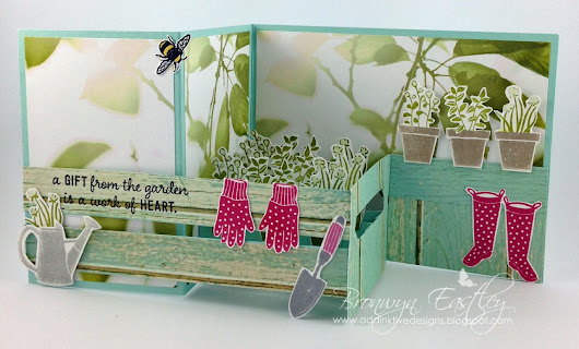 A Gift from the Garden - Pop-Up, Z-Fold, Card in a Box