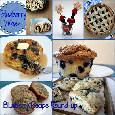 50 Blueberry Recipes #blueberries