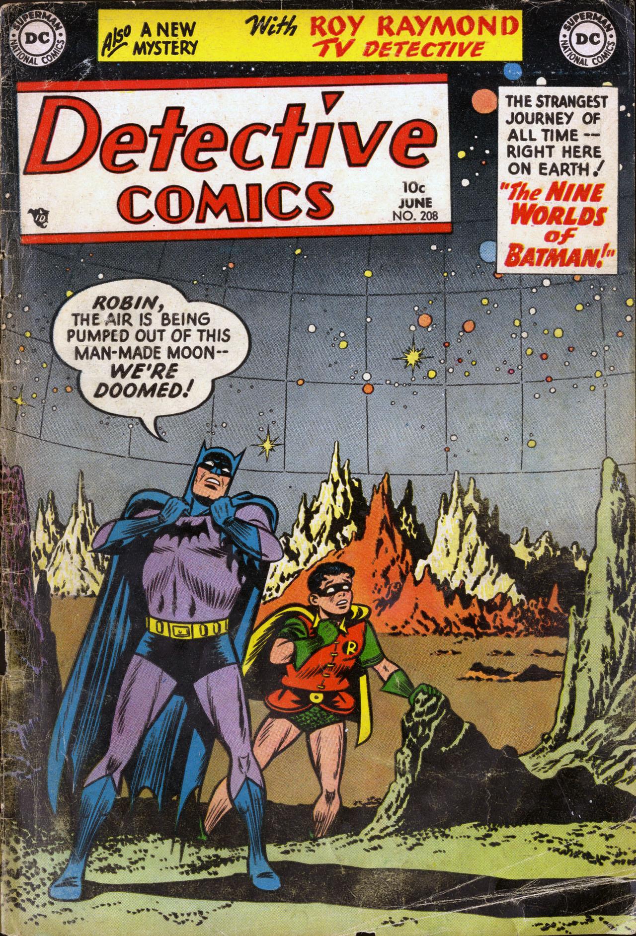 Detective Comics (1937) 208 Page 0