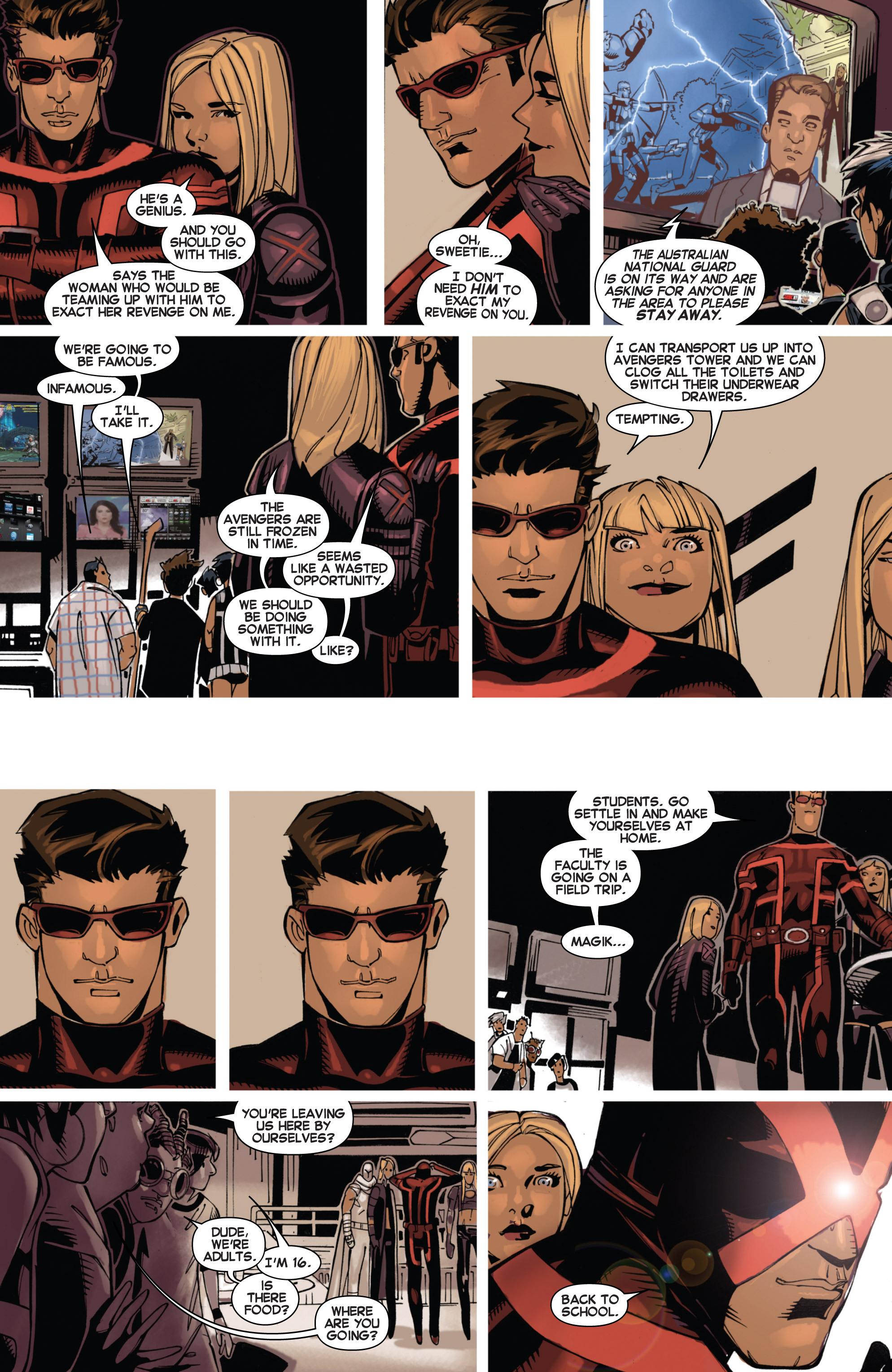 Read online Uncanny X-Men (2013) comic -  Issue #3 - 18
