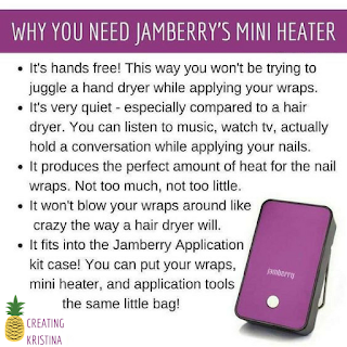 Why you need Jamberry's mini heater What Is Jamberry? - The Vegan Nail Art Revolution