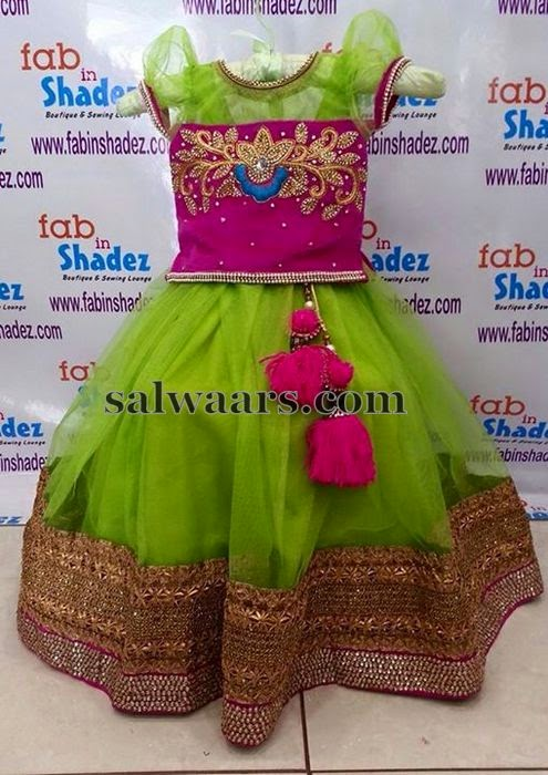 Maggam Work Blouse With Lehenga Indian Dresses