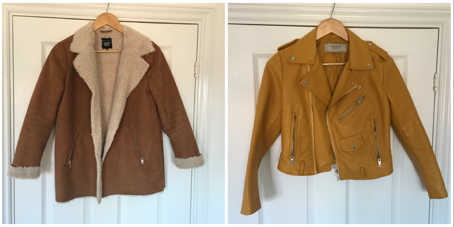 Autumn Jacket Collection | Newlook and Zara