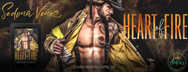 Heart of Fire Cover Reveal ~ Sedona Venez