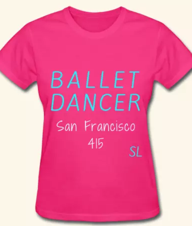 0fef64552 This ballet tee shirt will definitely be a conversation starter. Ballet  dancers are phenomenal!