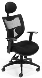 OFM, Inc. 580 Executive Mesh Chair