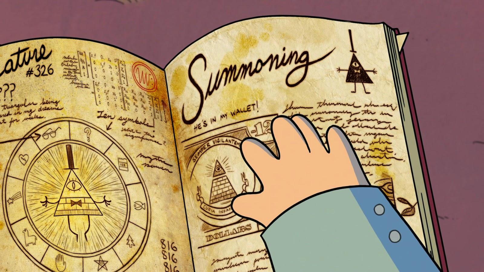 Gravity Falls Film Kartun Disney Yang Syarat Simbol Illuminati