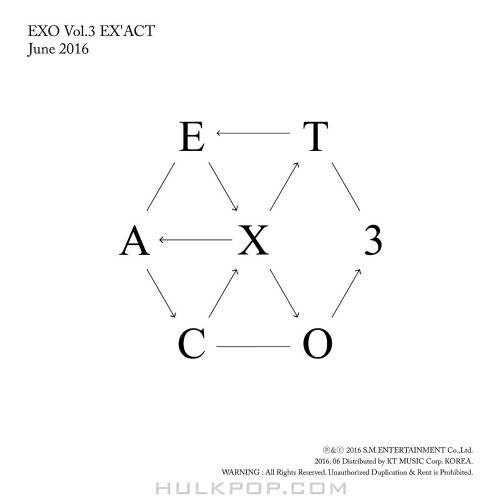 EXO – EX`ACT – The 3rd Album (FLAC + ITUNES PLUS AAC M4A)