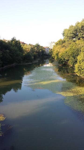 River Tundzha, Yambol City Park, Yambol,