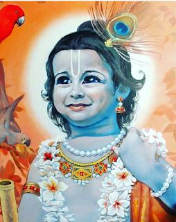 Little Baby Krishna's Cute Smile
