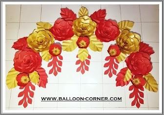 Paper Flower / Bunga Kertas (Paket C)
