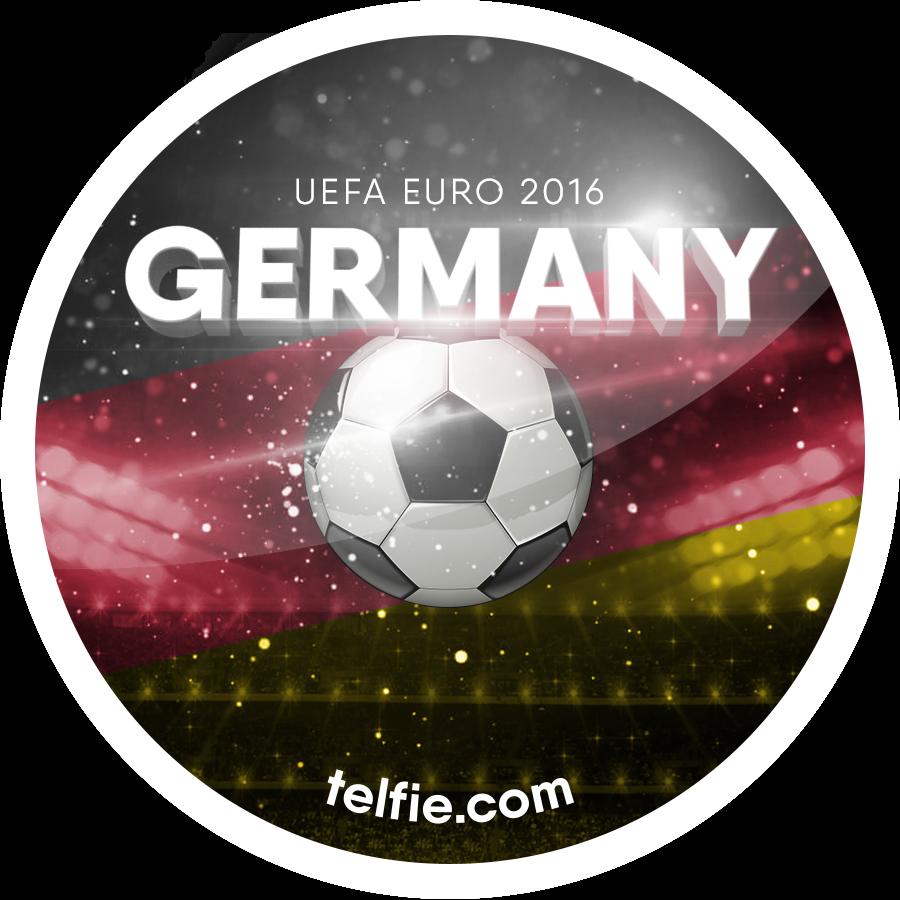 pcholic new telfie app stickers for uefa euro 2016 germany ukraine. Black Bedroom Furniture Sets. Home Design Ideas