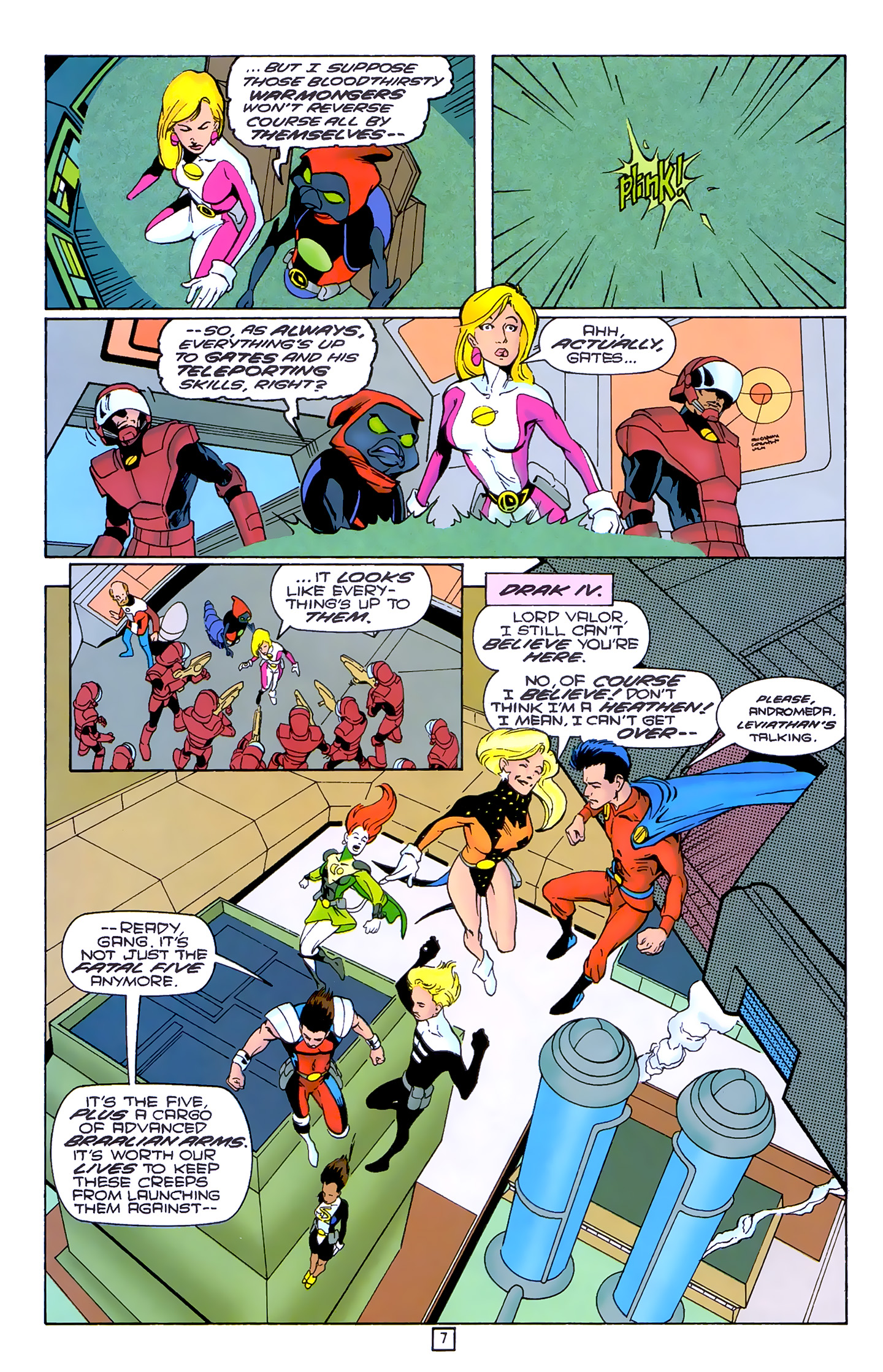 Legion of Super-Heroes (1989) 80 Page 6