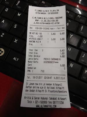 Belanja Di Alfamart Menggunakan Indomaret Card 3