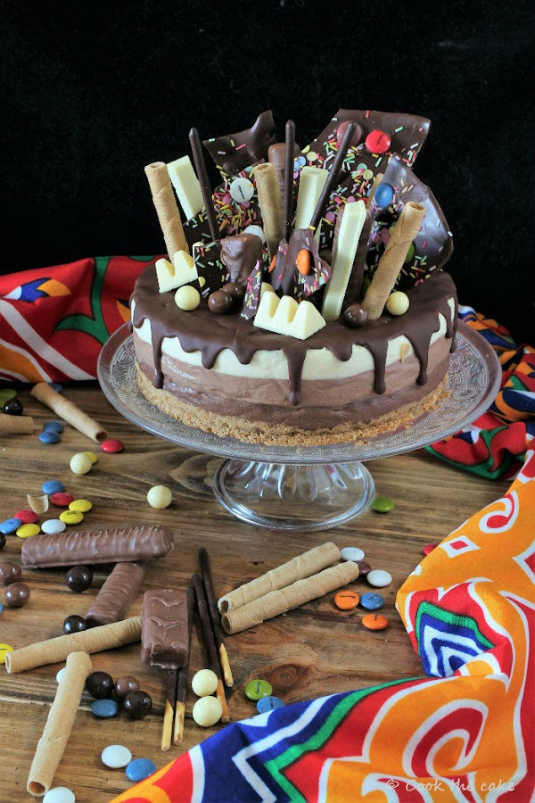 three-chocolates-drip-cake, tarta-tres-chocolates