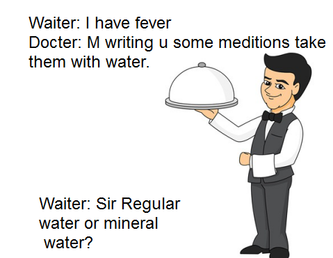 Waiter and Doctor Latest Whatsapp Jokes